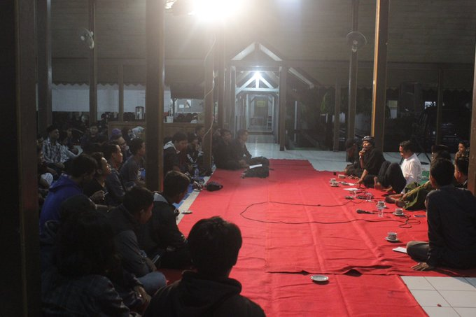 Suasana Juguran Syafaat sesi kedua edisi November 2018: DUNYA LA TARHAM #JSNov Photo