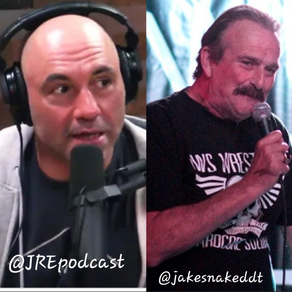 NOVEMBER 20th @joerogan and @jakesnakeddt are sitting down for @JREpodcast! Mark your calendar and dont miss out! @WWE #WWEHOF #JakeTheSnake #JREPodcast #DDPYworks #PositivelyUnstoppable