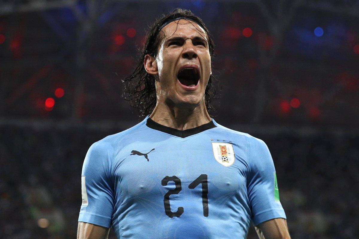 URU🇺🇾 2-1 🇵🇹POR Cavani 7, 62 Pepe 55 It was certainly El Matadors night! The win saw @Uruguay into the Russia 2018 quarter-finals, to face @FrenchTeam...