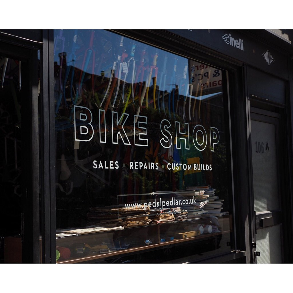 Here til 5 folks, and closed tomorrow so head over soon if you need anything fixing (or want a sweet new 🚲) #bikeshop #bikes #vintagebikes #custombikes https://t.co/ixs1qFoy8B