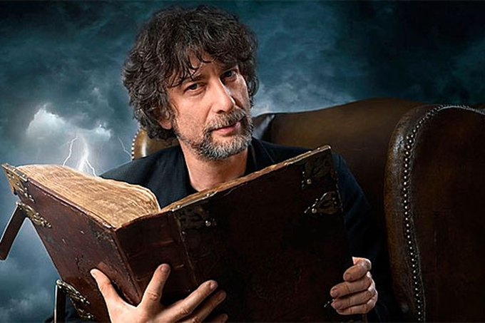 """We owe it to each other to tell stories\"" Happy Birthday to one of my favorite authors Neil Gaiman!"