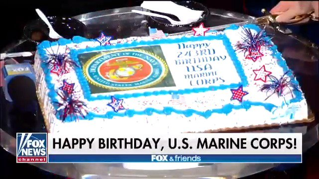 Happy 243rd birthday @USMC! Today we celebrate those who protect American rights and freedom.
