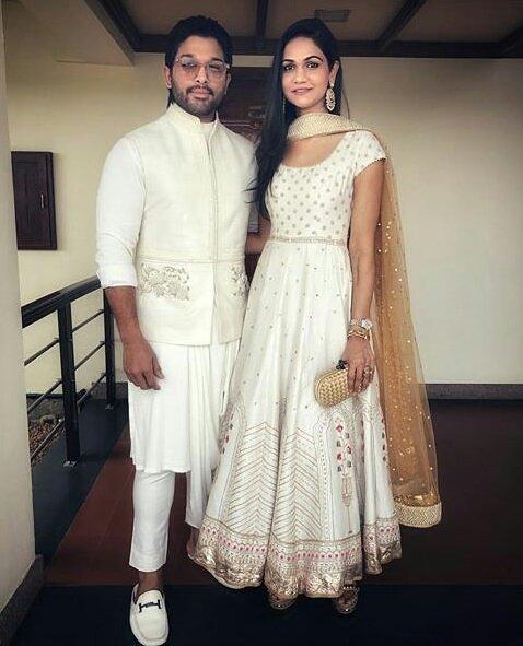 #ArjunSneha cutest couple 😘 #AlluArjunAsGuestOfHonorAtNTBR Photo