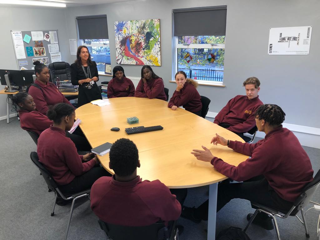 Ambassadors enjoyed their first official meeting with the Headteacher. They all came with great ideas and look forward to their term as AMCs senior students