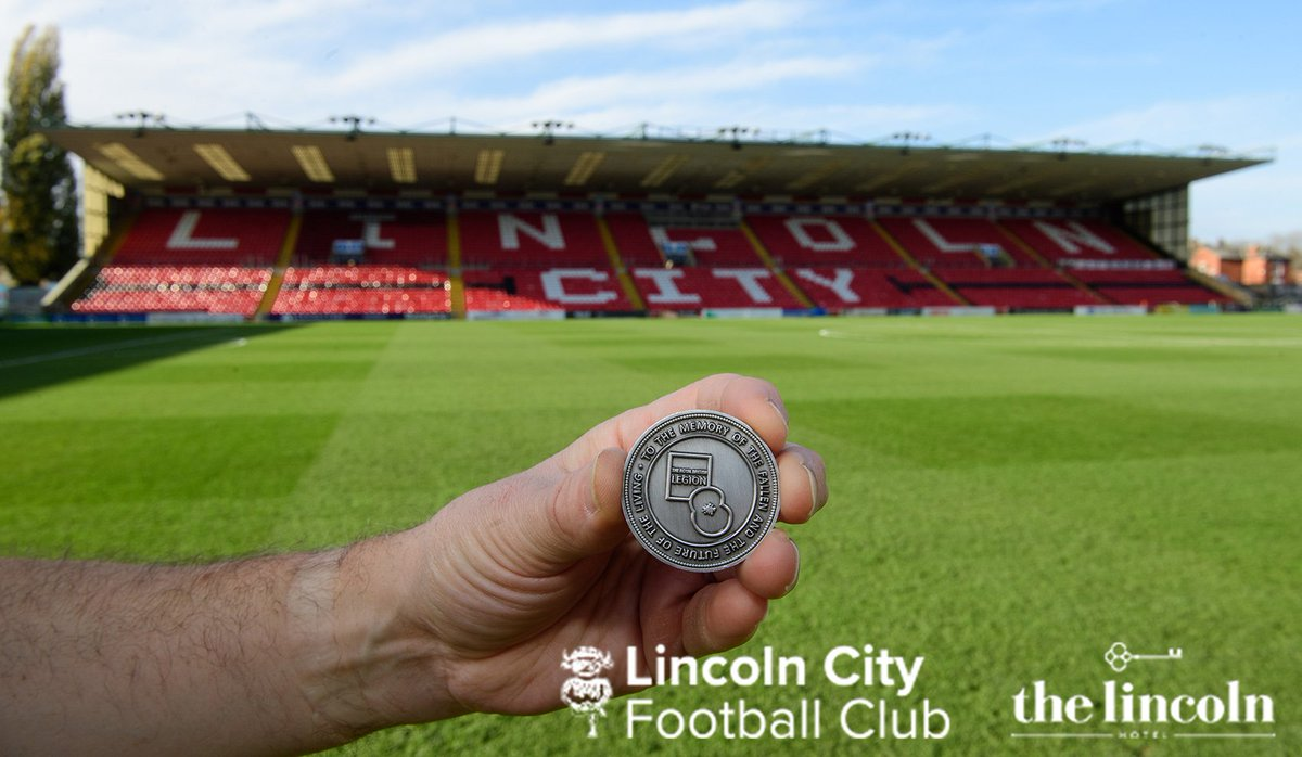 Captains coin toss with special commemorative Remembrance coin ✅ #ImpsNTFC