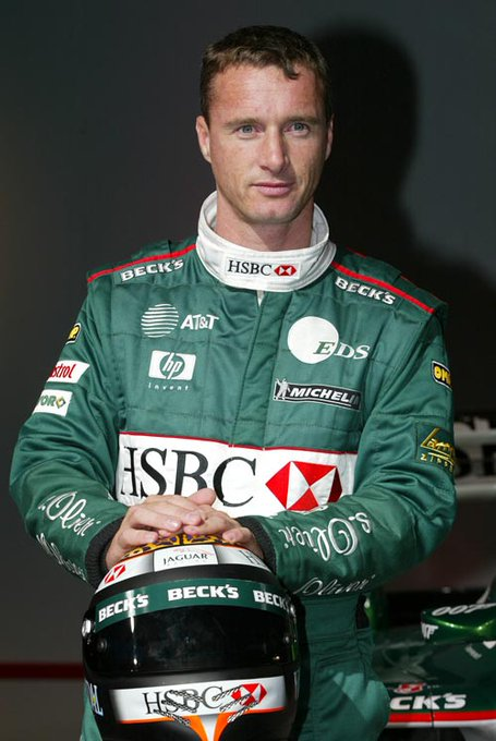 """NASCAR is a bunch of farmers driving around in circles.\""  Happy birthday Eddie Irvine 53)"