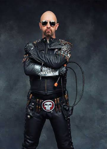 @bridgetjules Rob Halford, a bicha diva do Heavy Metal!! Foto
