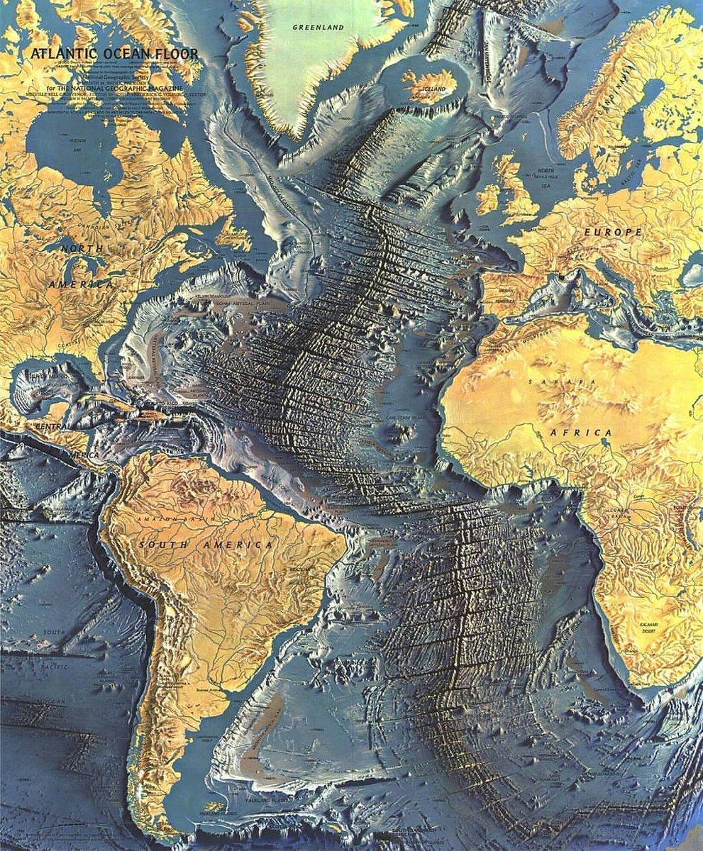 Ocean bottom maps