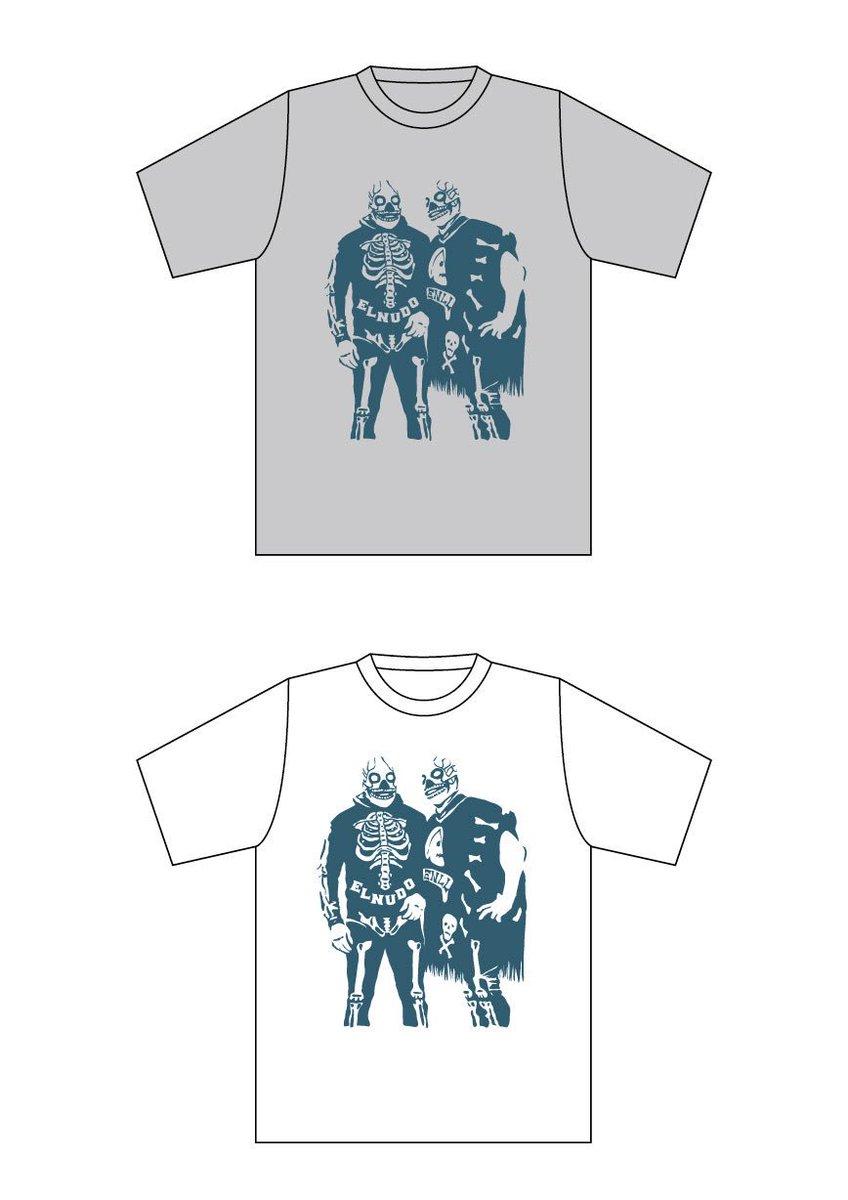 RT @mo_nudo: New EL NUDO Tシャツ作りました。S~XL、¥1,000、ライブ会場販売のみ。普段着に最適!よろしくお願いします! https://t.co/NQniRjSaDZ