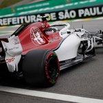 🏁🇧🇷 2018 Brazilian Grand Prix - #FP3 🇧🇷🏁  First one out...early bird @Charles_Leclerc   #Alfaromeosauberf1team #BrazilGP