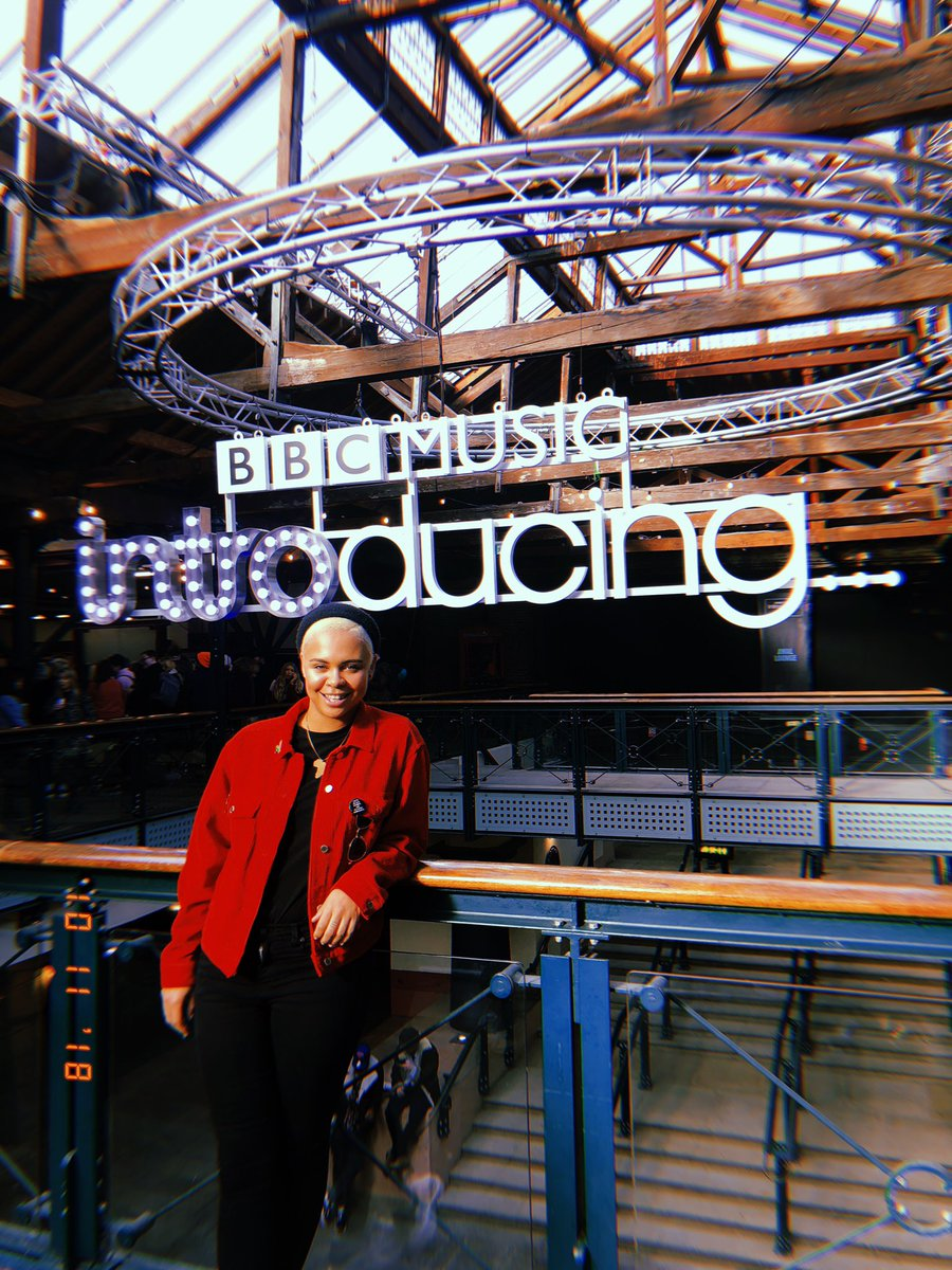 thank you @bbcintroducingu for having me today! met some amazing people!