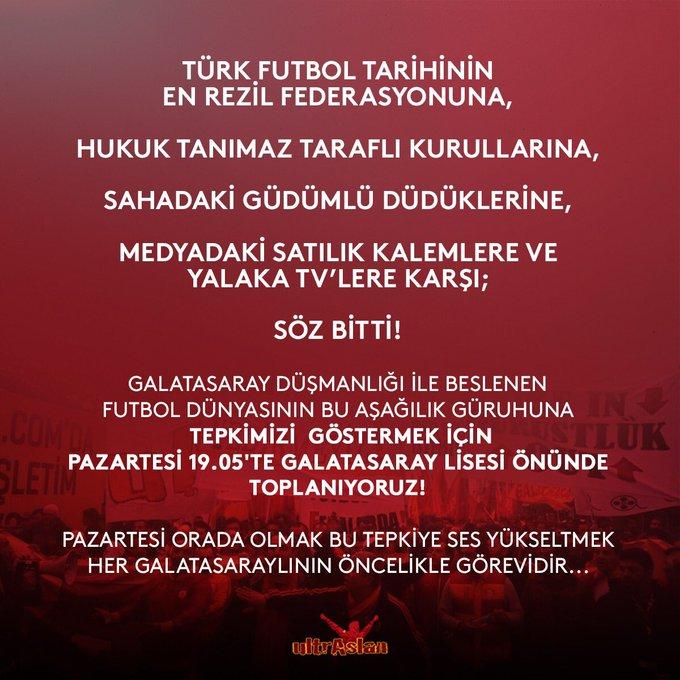 / 19:05 / Mekteb-i Sultani Pazartesi #GalatasaraylılarOmuzOmuza Fotoğraf