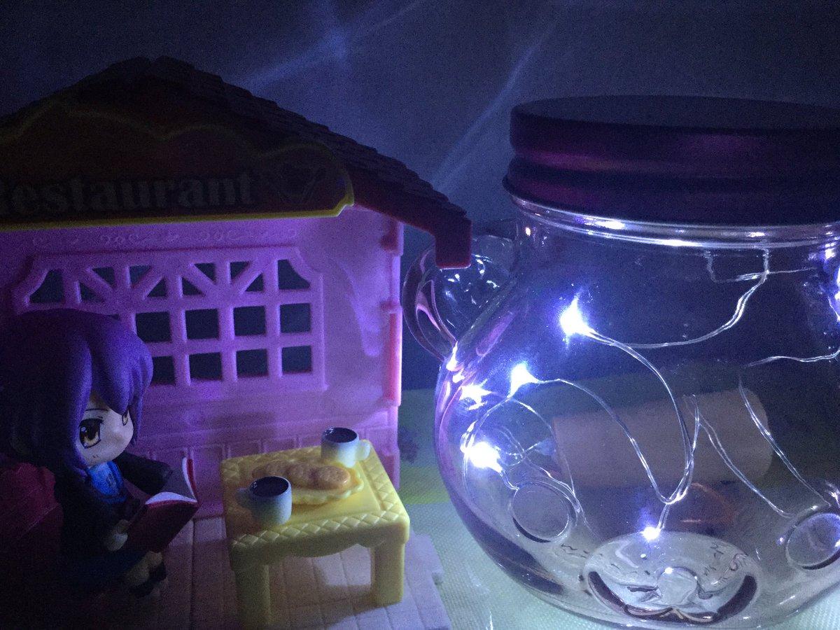 test ツイッターメディア - #ダイソー #led  ダイソーのワイヤーライト(コルク栓風)led  コリラックマさんの瓶の中へ。 なかなかの明るさ(*???*) https://t.co/ag7Gl19ZVu