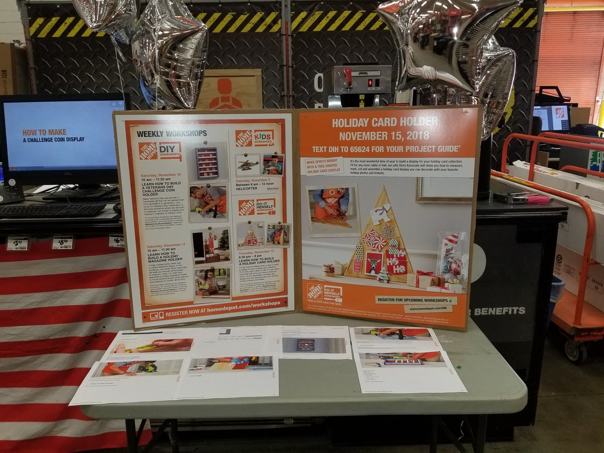 Workshops by the Home Depot 1603 (@do_depot) | Twitter