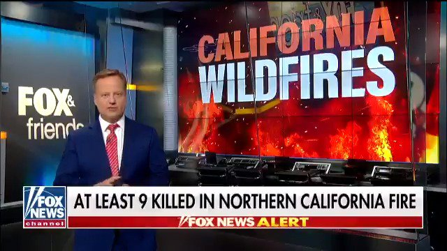 .@rickreichmuth tracks the deadly Northern California wildfire that has already claimed at least nine lives
