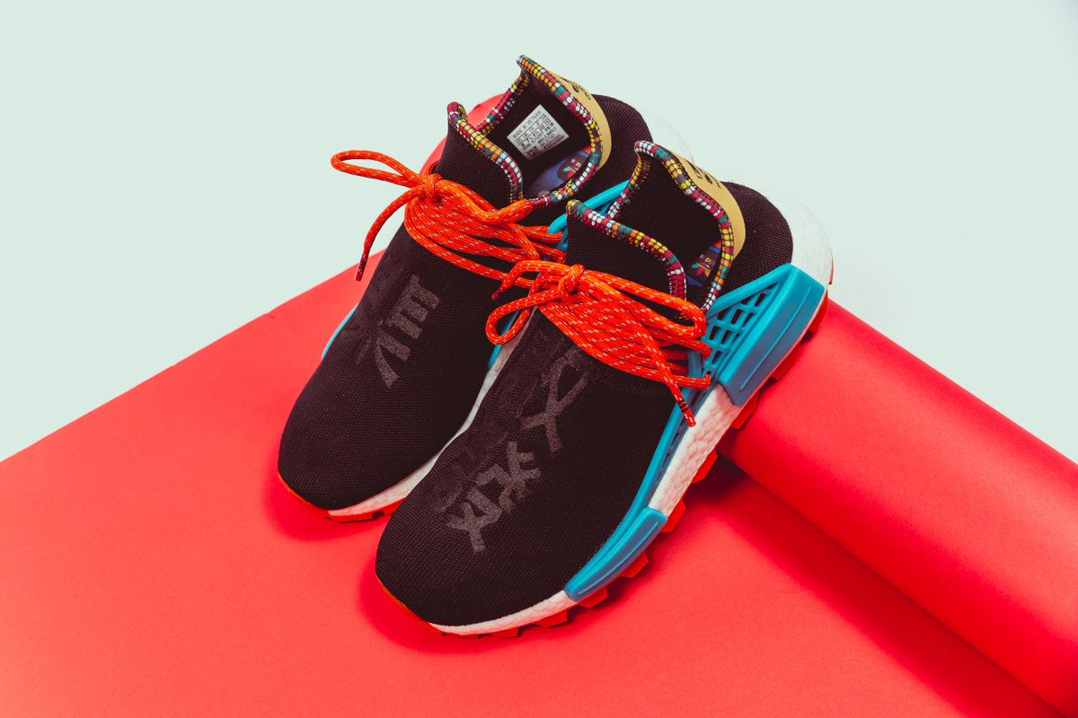 ed2152b74ea43 Pharrell Williams x adidas NMD Hu Inspiration Pack dropped via SNK  White Green -  https   bit.ly 2DxCirk Core Black Blue -   https   bit.ly 2DaQVzH Blue Pink ...