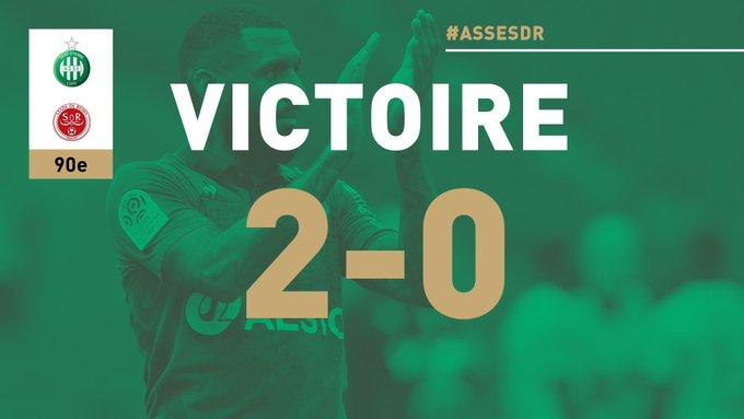 #ASSESDR 2-0 🏁 VICTOIRE ! Les Verts font le plein à la maison ! 🙌 Photo