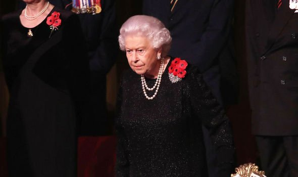 The #Queen has led members of the Royal Family in a thank you to those who made the ultimate sacrifice in service of their country at the#FestivalofRemembrance Photo