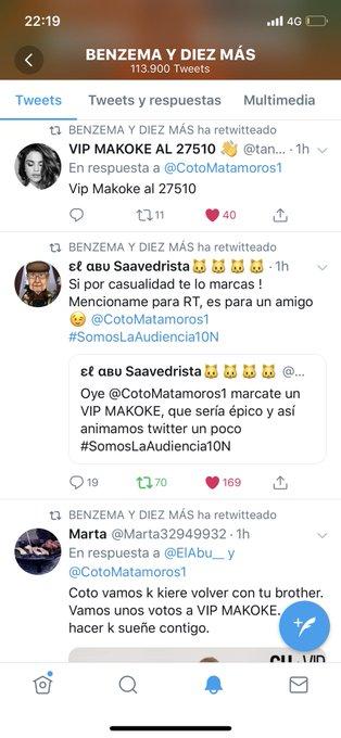 Confirmamos que @CotoMatamoros1 es team Inca y anti Makoka y su ejército de garrapatas? Confirmamos. #SomosLaAudiencia10N #SomosLaAudiencia10 Foto