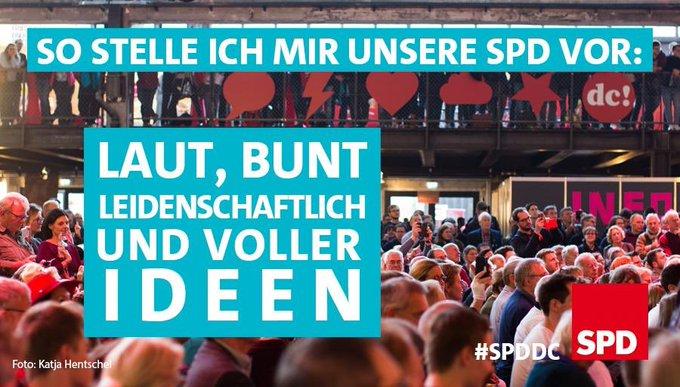 DAAAANKE! Was ein Tag! 2500 Menschen, 33 Sessions mit tollen Debatten. So wild und kreativ kennen viele die SPD gar nicht 😉 aber so sind wir eigentlich immer 😎 #spddc #spderneuern Foto