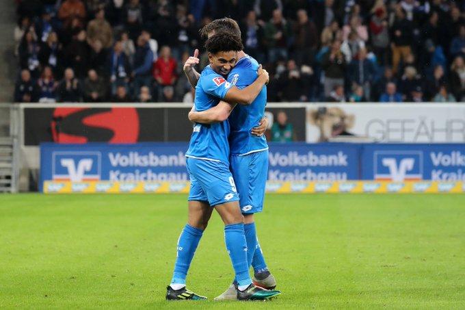 Vier #Bundesliga-Siege nacheinander – habt einen schönen Sonntag! #TSGFCA Foto