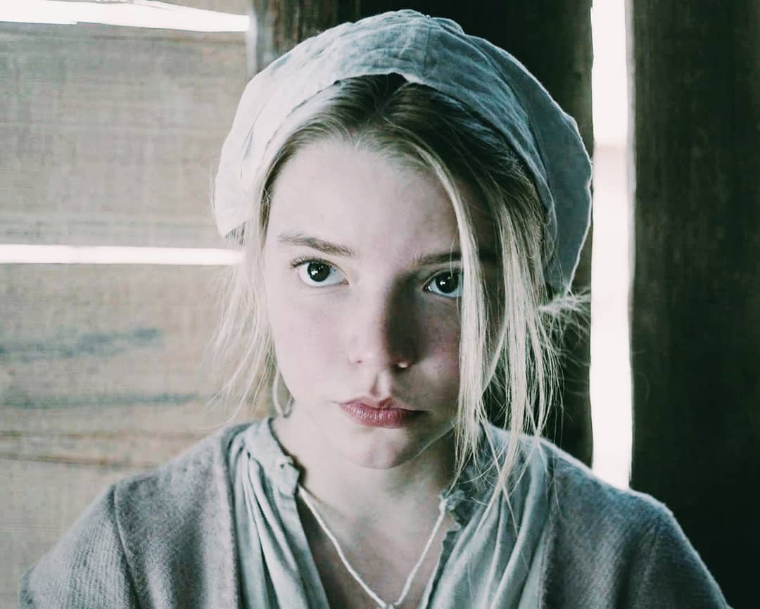 """best period drama on Twitter: """"Anya Taylor-Joy in The Witch, 2015… """""""
