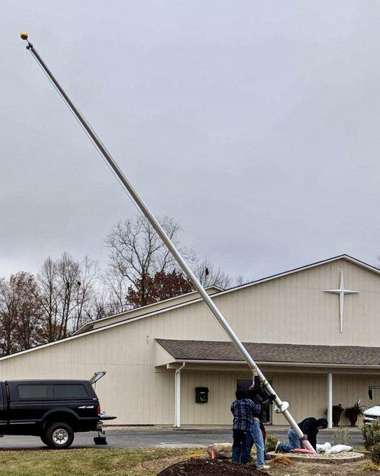 @ North Point Community Church, #FortWayne,IN new #Flagpole #Aluminum 30' https://t.co/9cORZlW2Wf https://t.co/lmKCHnIwWi