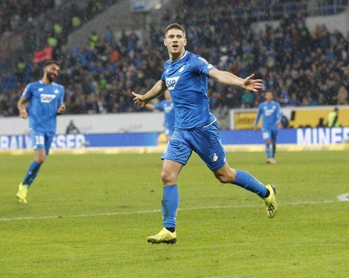 Andrej gegen den ⚽️ Tore: 1 🎯 Schüsse: 4 📈 Passquote: 85% #TSGFCA Foto