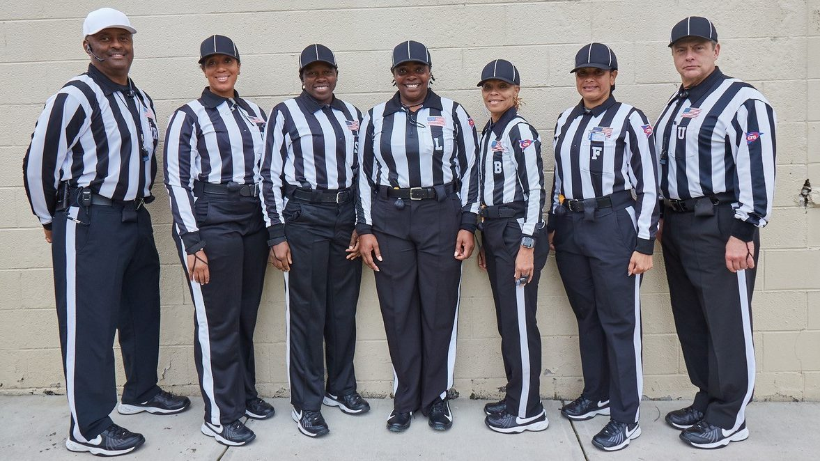 All-female officials team set to referee @CIAAForLife football title game. undf.td/2JTfiTS