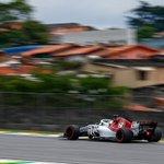 🏁 2018 Brazilian Grand Prix - #Q1 🏁  Both drivers through in top 10 positions - keep pushing! ⭐️  - P8 = LEC (1:08.667) - P10 = ERI (1:08.754)  #Alfaromeosauberf1team #BrazilGP