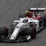 🏁🚦 2018 Brazilian Grand Prix - #Q2 🚦🏁  ⭐️ BOOM! ⭐️  A brilliant lap from @Charles_Leclerc will see him join @Ericsson_Marcus in #Q3  - P8 = LEC (1:08.335) - P9 = ERI (1:08.579)  #Alfaromeosauberf1team #BrazilGP