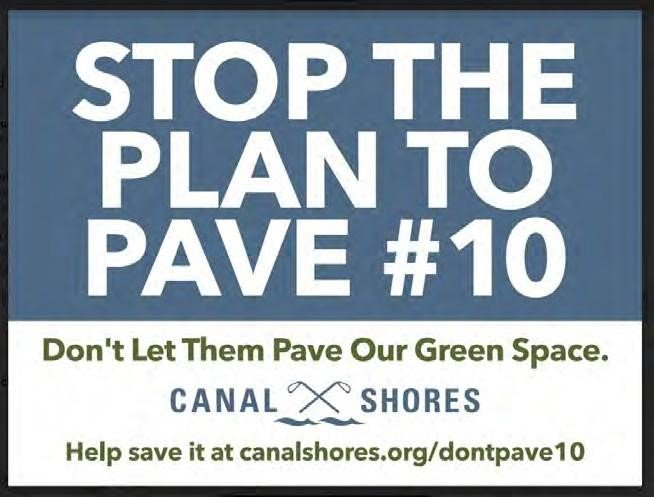 WE NEED YOUR HELP! Join us tomorrow morning at 8 am, as we #protest the proposed paving of Hole #10 @CanalShores. For more information, please follow the link: bit.ly/2PnuDlm. #Chicago #CanalShores
