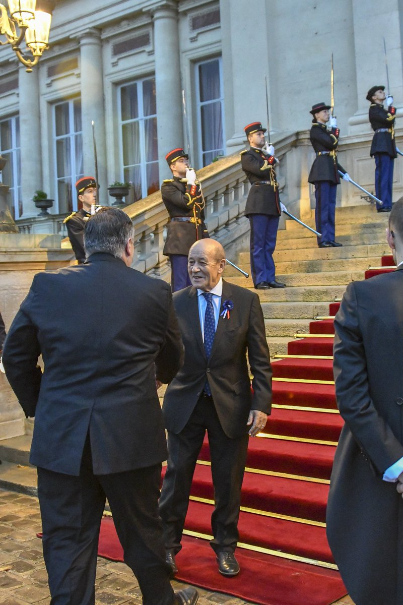 Had a productive meeting with Foreign Minister @JY_LeDrian today discussing a range of bilateral, regional, and global issues.