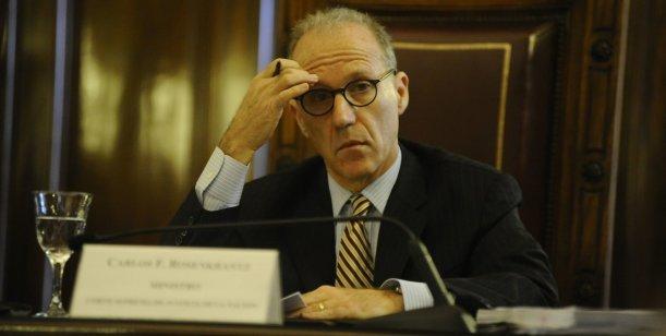 Malestar en la Corte Suprema por la resistencia de Rosenkrantz a tratar cuatro casos sensibles Foto