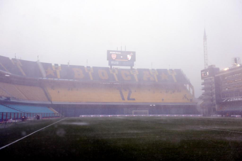 Las lluvias han detenido el Boca Juniors vs River Plate
