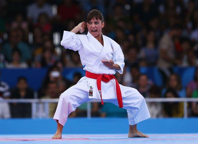 🏅Enhorabuena a Sandra Sánchez, flamante Campeona del Mundo de Karate. El deporte femenino español crece exponencial y merecidamente. 🥋 Foto