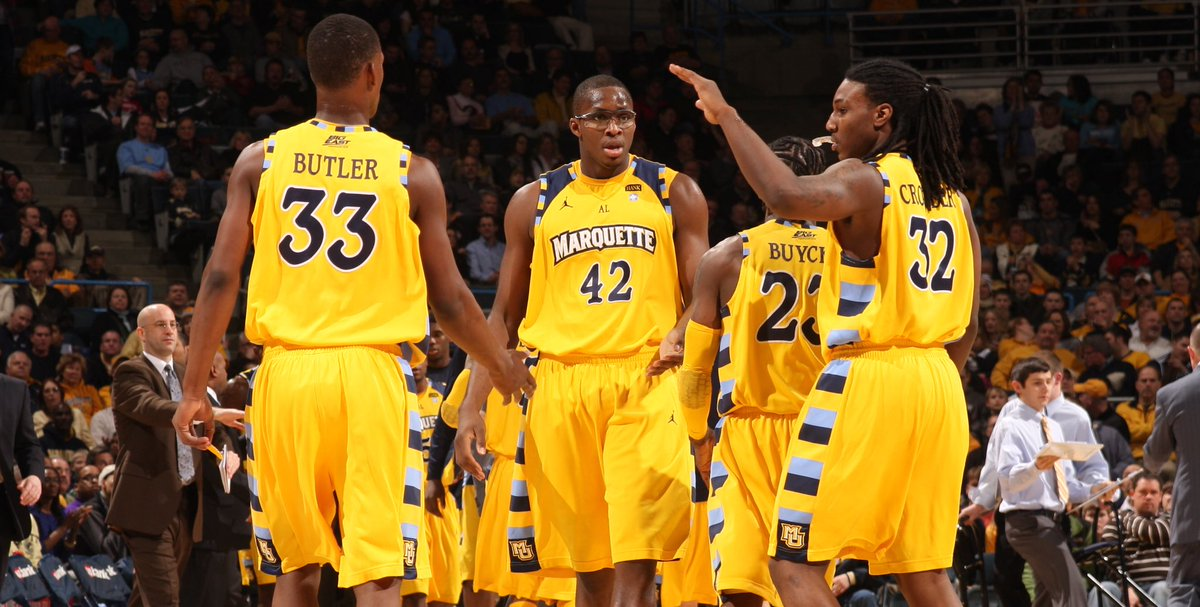 College Teammates On Twitter Jimmy Butler And Jae Crowder Marquette 2011
