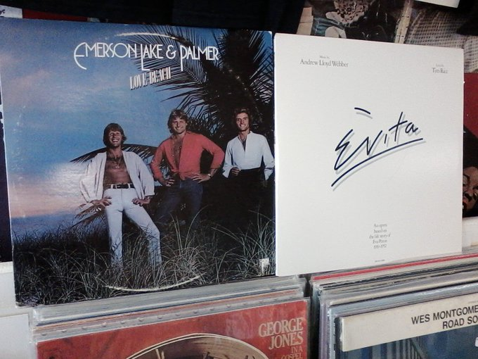 Happy Birthday to the late Greg Lake of Emerson, Lake & Palmer & Tim Rice, lyricist for Evita