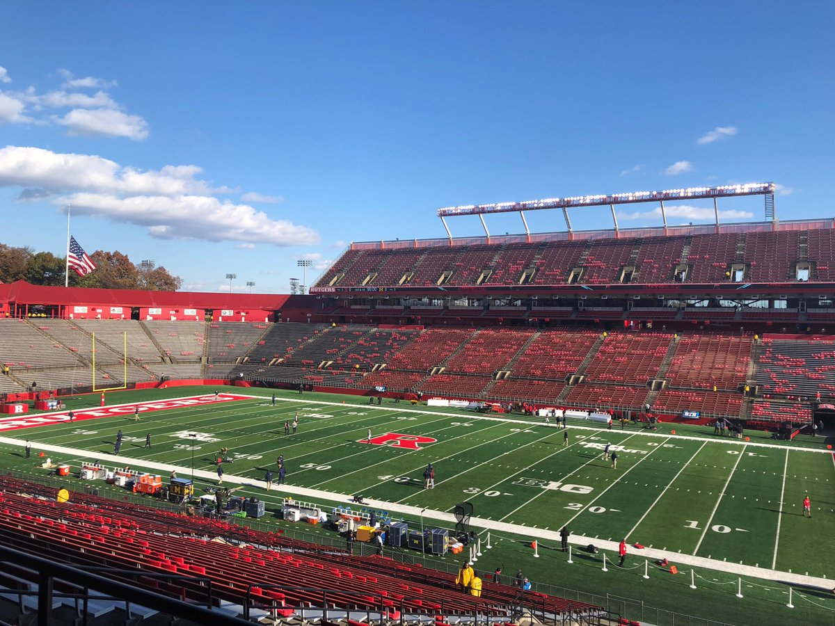 Michigan Will Be Dealing With Serious Weather at Rutgers Today