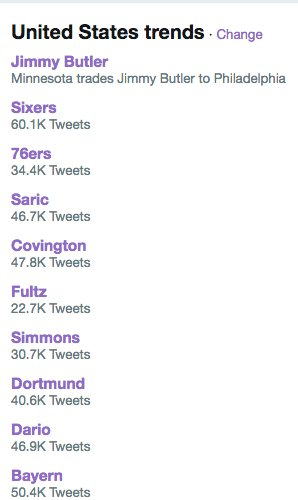 Yeah, I'd say the NBA owns Twitter. https://t.co/xfJWNSyOct