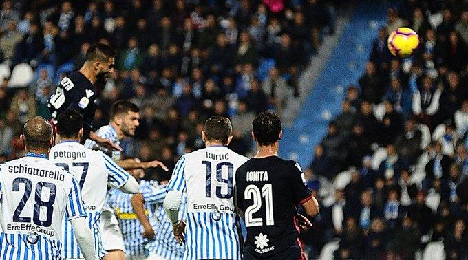 Serie A, Spal-Cagliari 2-2: Pavoletti e Ionita rispondono a Petagna eAntenucci Foto