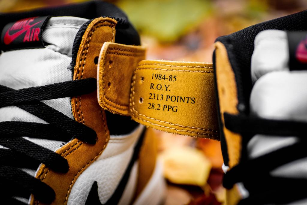 """6574ecce18770c Inspired by what MJ wore during his """"Rookie of the Year"""" speech.  Jordan  Retro 1 """"ROY"""" Launching 11 17"""