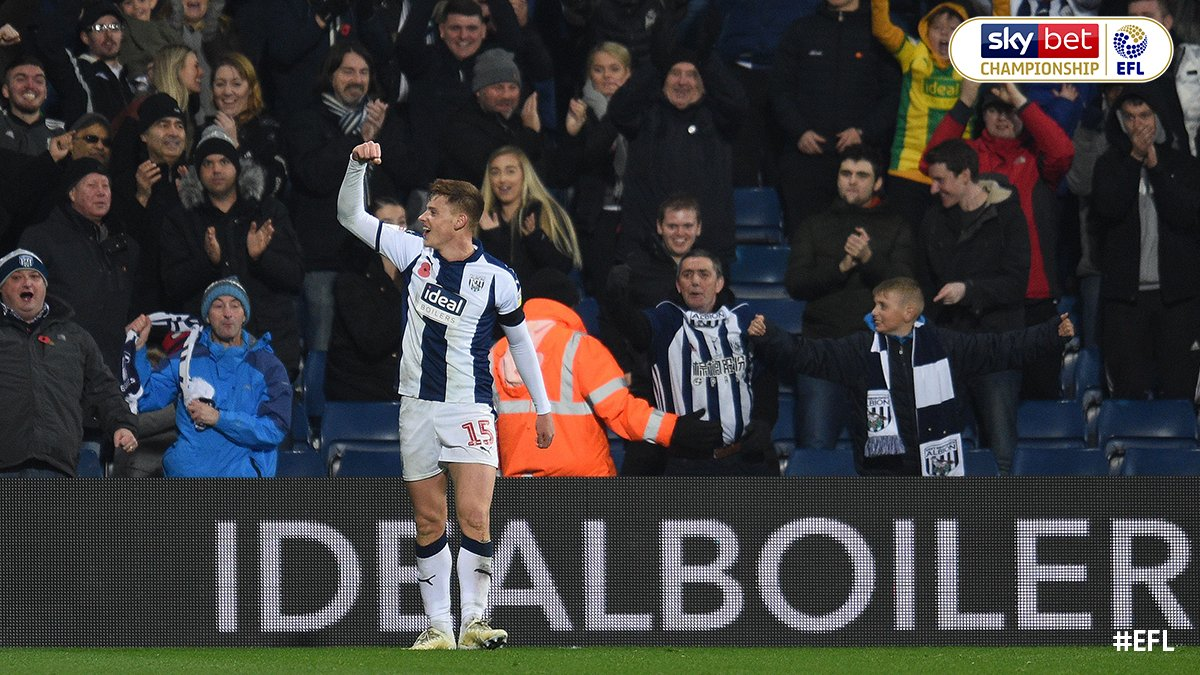 Back to winning ways, up to fifth. Enjoy your Saturday night @WBA fans 👊🏼