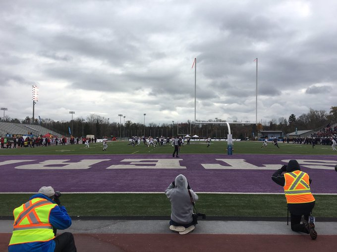 #YatesCup Update: Western is up 39-7 at the half over the Guelph Gryphons Photo