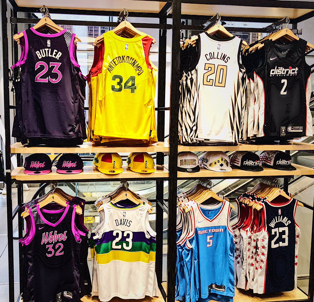 New City Edition jerseys are EVERYTHING! Now available @NBASTORE NYC and on.nba.com/2D9f61o