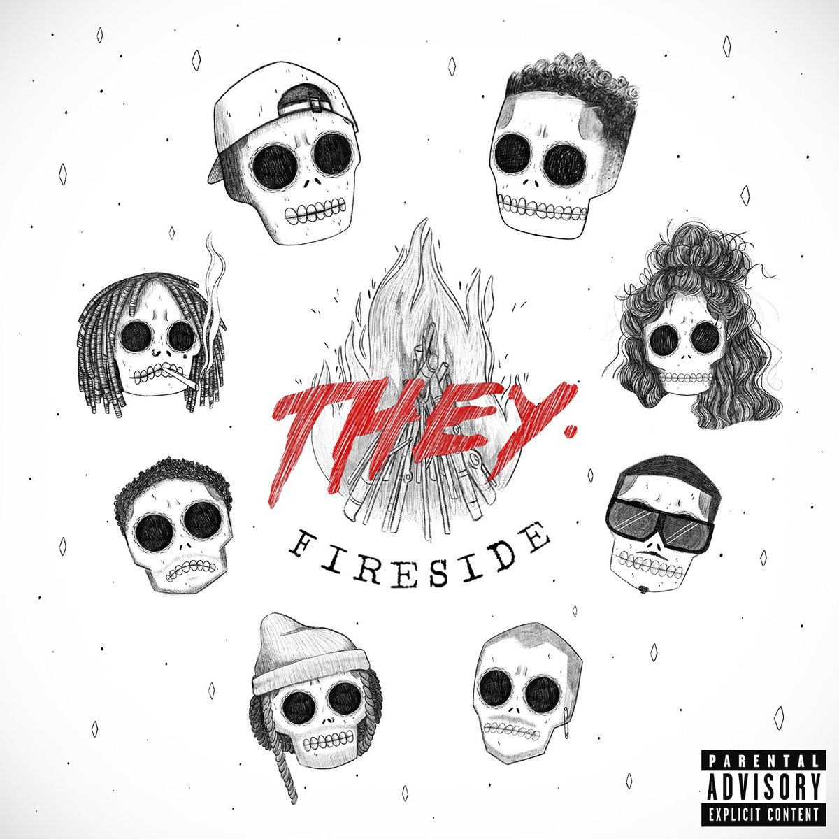LA-based duo @unofficialTHEY blend elements of R&B, hip-hop and alt-rock on their ear-catching new 'Fireside' Spin the EP now, which features @tydollasign, @Jeremih, @wizkhalifa and more: https://t.co/0buWkxmpA9 https://t.co/os7u4Nu0WQ