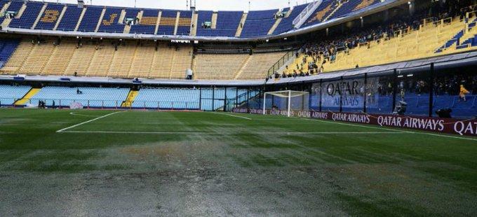 ⚽️ #Deportes: Aplaza Conmebol un día el partido en La Bombonera, tras fuerte aguacero | #Video Foto