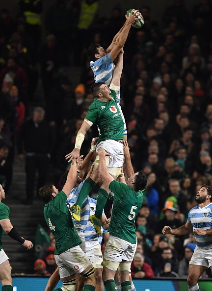 FT: @IrishRugby get their second win of the November window beating Argentina 28 - 17 #IREvARG Photo