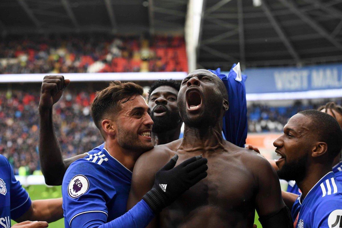 That feeling when you win the game in the last minutes 😍💪🏽! Great win at home #BlueBirds 💙! - Esa gran sensación de remontar un partido en los últimos minutos 😍💪🏽! Gran victoria en casa #BlueBirds 💙!
