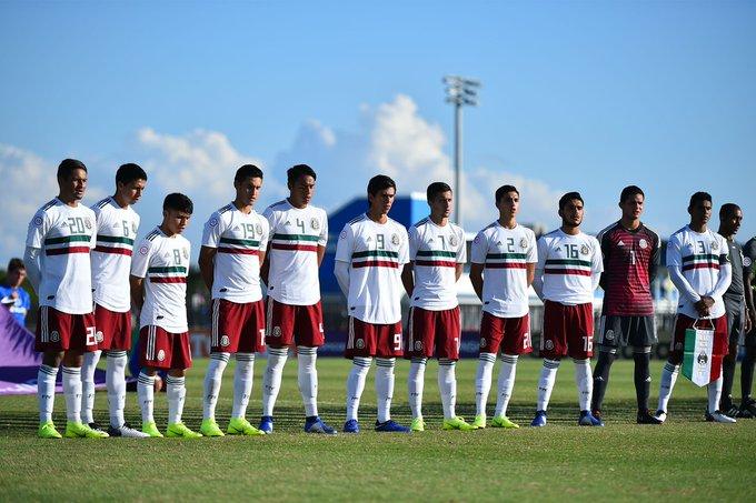 ¡México GOLEA y GUSTA! 🇲🇽🤗 @miseleccionmx Sub 20 acaba con Aruba y avanza en el Premundial de @Concacaf Foto